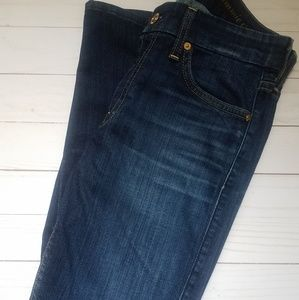 7 for all mankind kimmie crop size 27 jeans